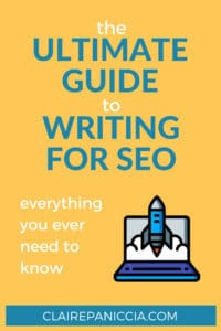 Ultimate Guide Writing for SEO Pin (1)