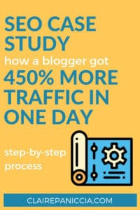 SEO Case Study: How This Travel Blogger Increased Traffic to a Post by 450 Percent in One Day